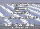 รายงานข่าวสุขภาวะ ภาคกลาง สานใจ สานพลัง 6 กันยายน 2555 (สมุทรสาคร) ตอน ศูนย์พัฒนาครอบครัวในชุมชน : สุภิญญา น้อยนารถ