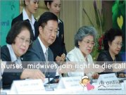 Nurses, midwives join right to die call