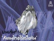 บนเส้นทาง...สู่ �สังคมไทยไร้แร่ใยหิน�