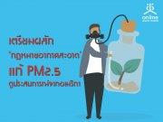 เตรียมผลัก �กฎหมายอากาศสะอาด� แก้ PM2.5 ดูประสบการณ์จากอเมริกา