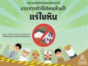 Fact Sheet สมัชชาสุขภาพแห่งชาติครั้งที่ 12  ทบทวนมติสมัชชาสุขภาพแห่งชาติ มาตรการทำให้สังคมไทยไร้แร่ใยหิน
