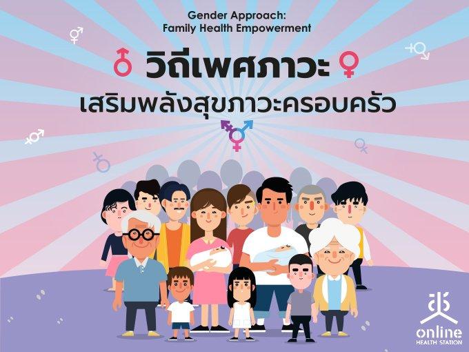 Fact Sheet สมัชชาสุขภาพแห่งชาติ ครั้งที่ 12 วิถีเพศภาวะ: เสริมพลังสุขภาวะครอบครัว