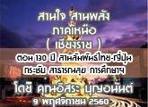 รายงานข่าวสุขภาวะ ภาคเหนือ สานใจสานพลัง (เชียงราย) 9 พฤศจิกายน 2560 ตอน 130 ปี สานสัมพันธ์ไทย-ญี่ปุ่น กระชับ สาธารณสุข การศึกษาฯ : อิสระ บุญอนันต์