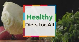 """""""ระบบอาหารที่ยั่งยืนเพื่อสุขภาพของทุกคน"""" sub english"""