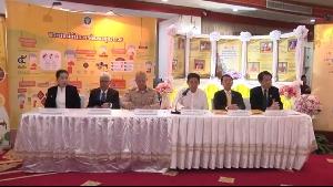 การแถลงข่าว  การดูแลสุขภาพพระสงฆ์ไทย 17 ก.ย.62 2/2