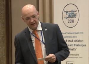 อภิปรายหัวข้อ Belt and Road Initiative-opportunities and challenges to global health 15 พ.ย. 61 ตอนที่ 1/2