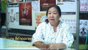 """วิดีทัศน์รับฟังความเห็นต่อการพัฒนาประเด็นฯ ระเบียบวาระ""""มาตรการทำให้สังคมไทยไร้แร่ใยหิน"""" : สมบุญ ศรีคำดอกแค"""